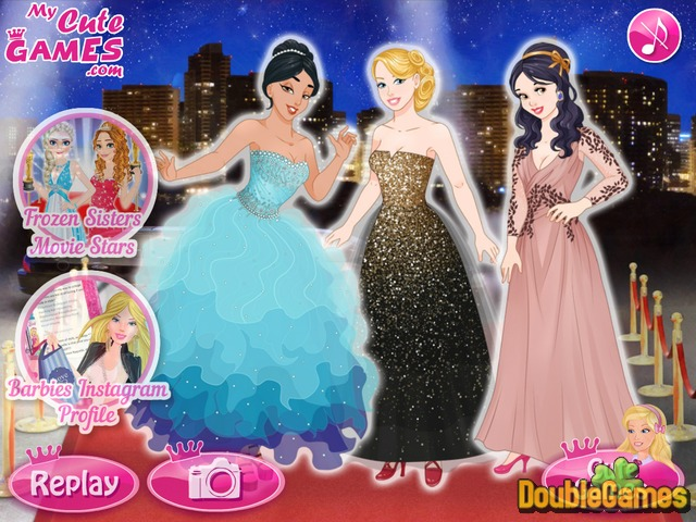 Kostenloser Download Barbie and The Princesses: Oscar Ceremony Screenshot 3