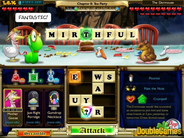 Kostenloser Download Bookworm Adventures: Fractured Fairytales Screenshot 1
