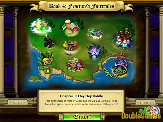 Kostenloser Download Bookworm Adventures: Fractured Fairytales Screenshot 2