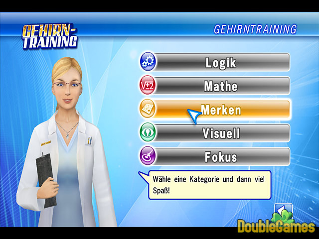 Kostenloser Download Gehirntraining Screenshot 1