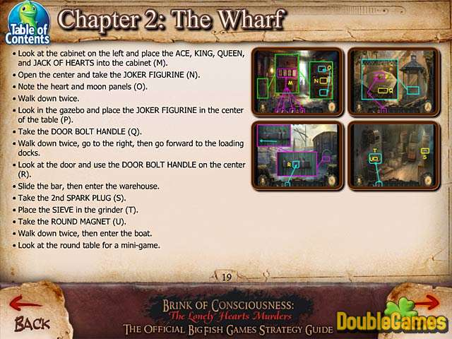 Kostenloser Download Brink of Consciousness: The Lonely Hearts Murders Strategy Guide Screenshot 3