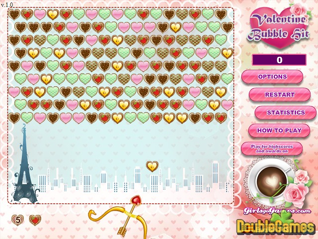 Kostenloser Download Valentine Bubble Hit Screenshot 1