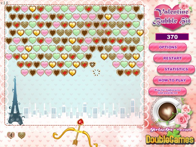 Kostenloser Download Valentine Bubble Hit Screenshot 2