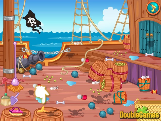 Kostenloser Download Carribean Pirate Ella's Journey Screenshot 2