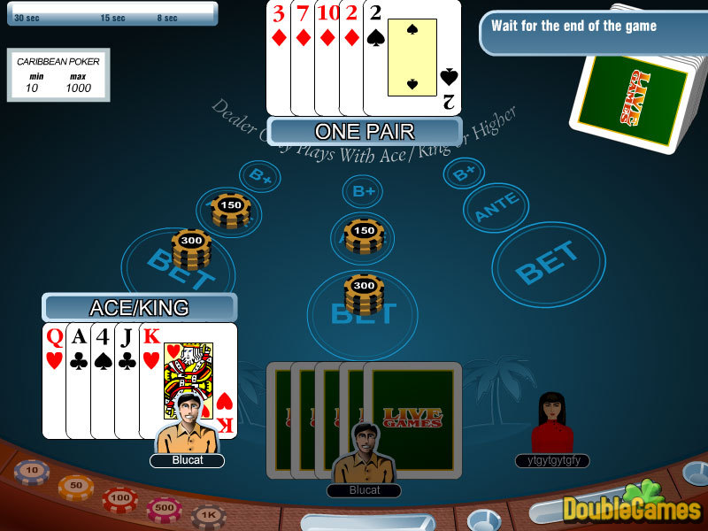 Kostenloser Download Carribean Stud Poker Screenshot 1