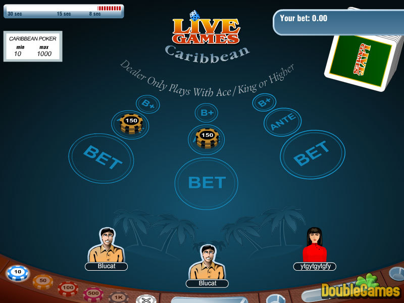 Kostenloser Download Carribean Stud Poker Screenshot 2