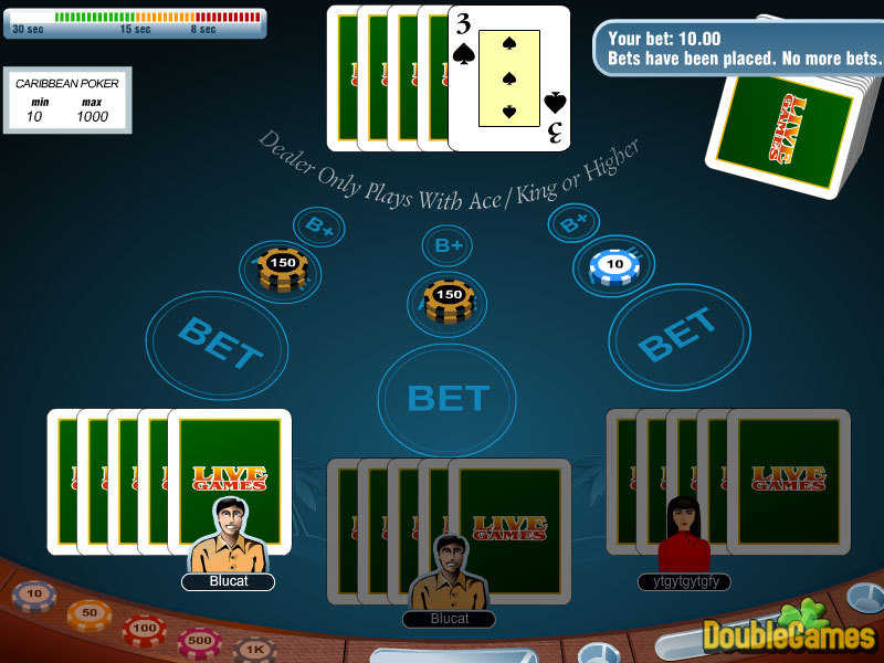 Kostenloser Download Carribean Stud Poker Screenshot 3