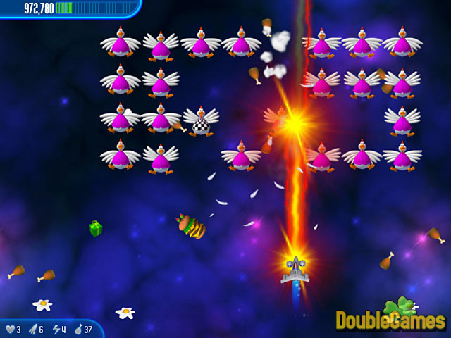 Kostenloser Download Chicken Invaders 3 Screenshot 2