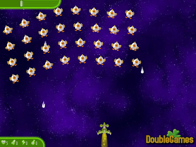 Kostenloser Download Chicken Invaders 4: Ultimate Omelette Easter Edition Screenshot 1