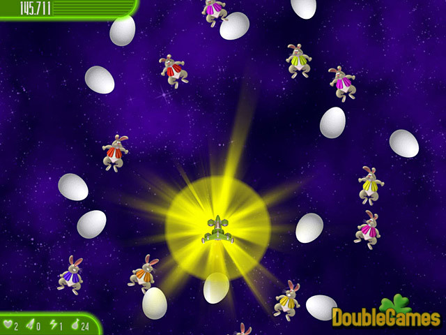 Kostenloser Download Chicken Invaders 4: Ultimate Omelette Easter Edition Screenshot 2