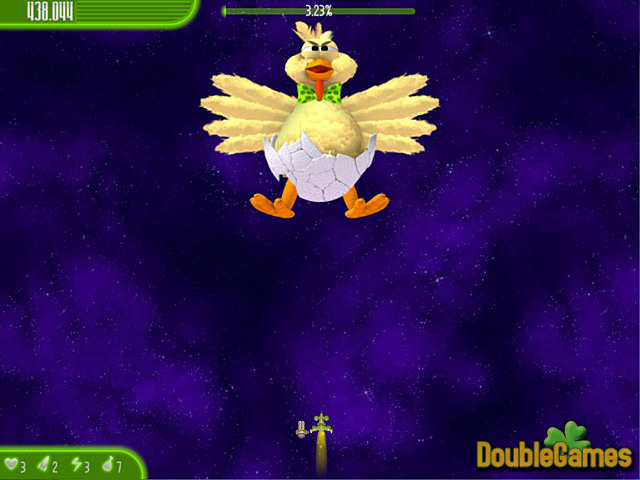 Kostenloser Download Chicken Invaders 4: Ultimate Omelette Easter Edition Screenshot 3