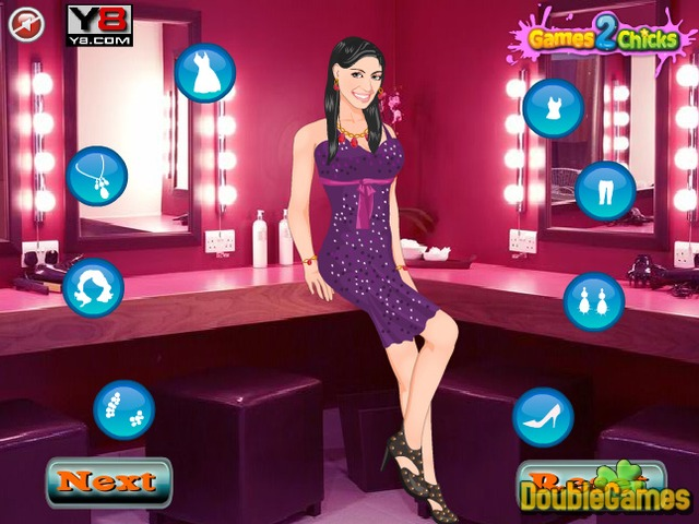 Kostenloser Download City Girl DressUp Screenshot 1