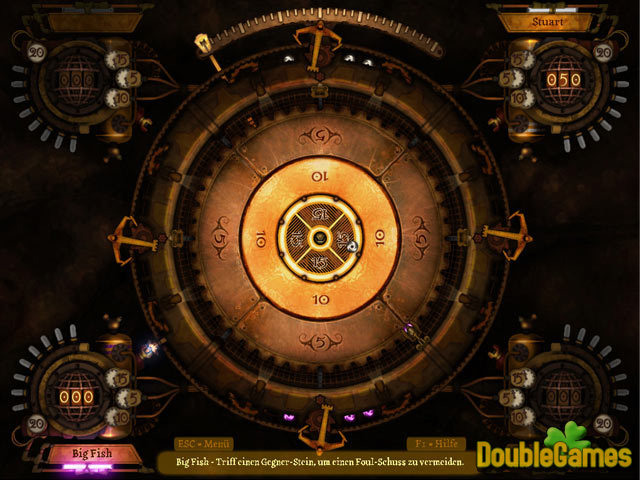 Kostenloser Download Clockwork Crokinole Screenshot 1