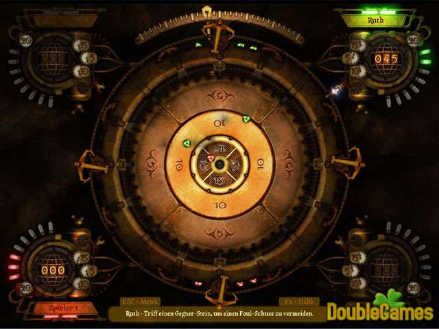 Kostenloser Download Clockwork Crokinole Screenshot 3