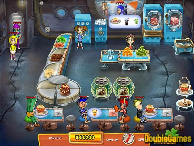 Kostenloser Download Cooking Dash 3 Thrills and Spills Premium Edition Screenshot 2