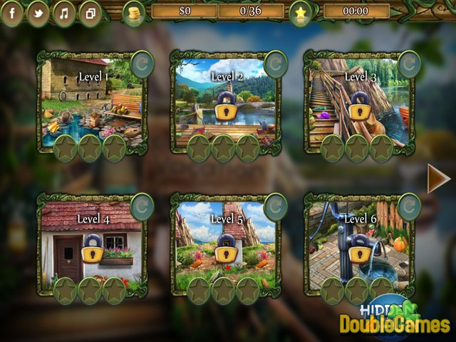 Kostenloser Download Countryside Vacation Screenshot 1