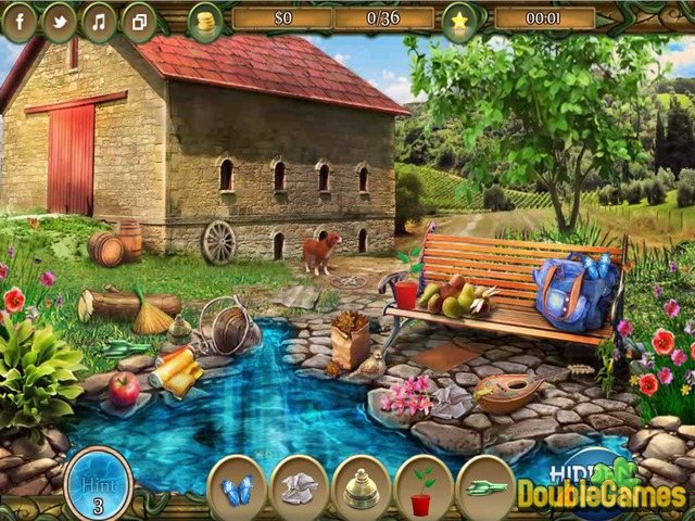 Kostenloser Download Countryside Vacation Screenshot 3