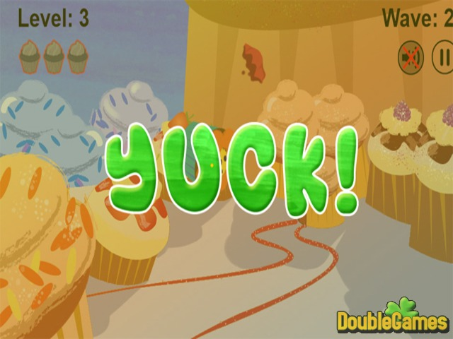 Kostenloser Download Cupcakes VS Veggies Screenshot 3