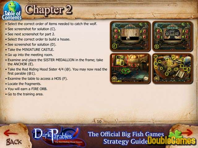 Kostenloser Download Dark Parables: The Red Riding Hood Sisters Strategy Guide Screenshot 2