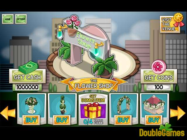 Free Download Dependable Daisy: The Wedding Makeover Screenshot 1