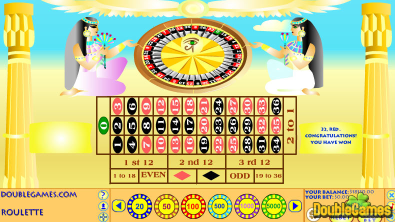 Kostenloser Download Egyptian Roulette Screenshot 1