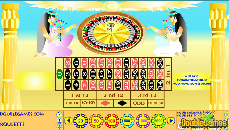 Kostenloser Download Egyptian Roulette Screenshot 2