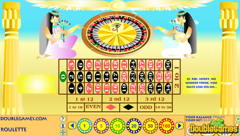 Kostenloser Download Egyptian Roulette Screenshot 3