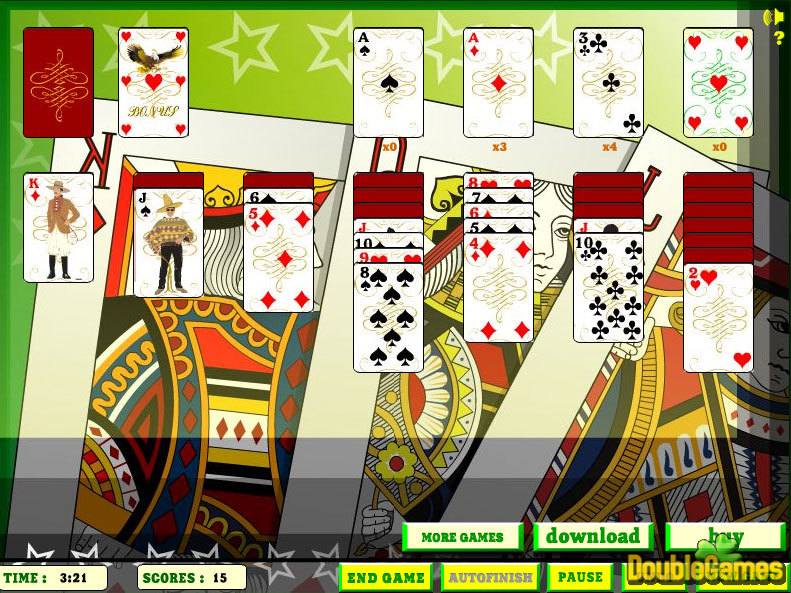 Kostenloser Download Elite Solitaire Screenshot 1