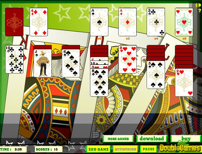 Kostenloser Download Elite Solitaire Screenshot 2
