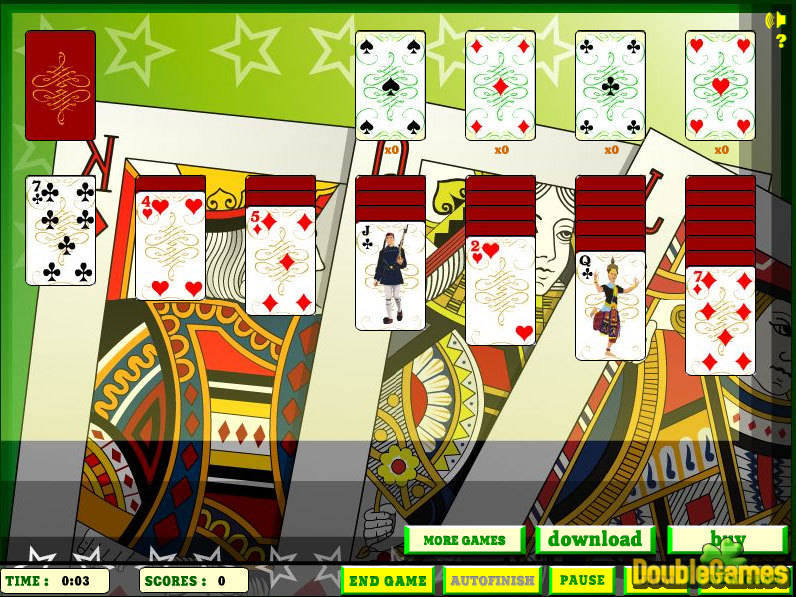 Kostenloser Download Elite Solitaire Screenshot 3