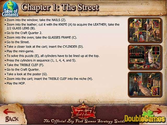 Kostenloser Download European Mystery: Scent of Desire Strategy Guide Screenshot 1