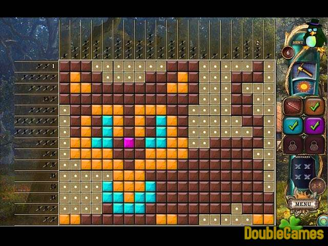 Kostenloser Download Fantasy Mosaics 16: Six colors in Wonderland Screenshot 1