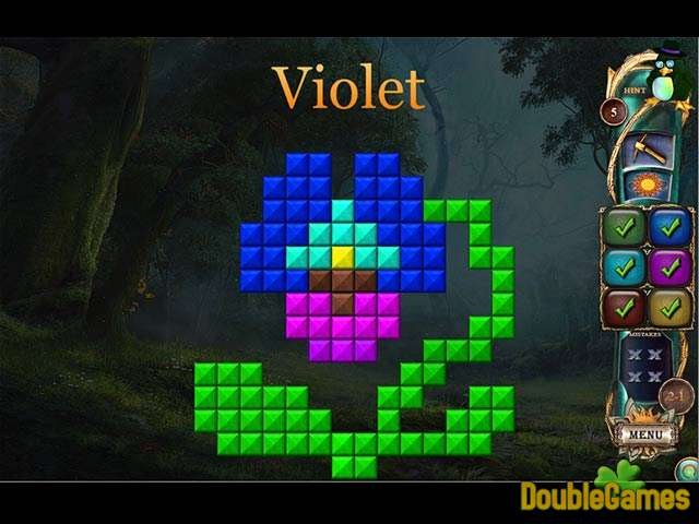 Kostenloser Download Fantasy Mosaics 16: Six colors in Wonderland Screenshot 2