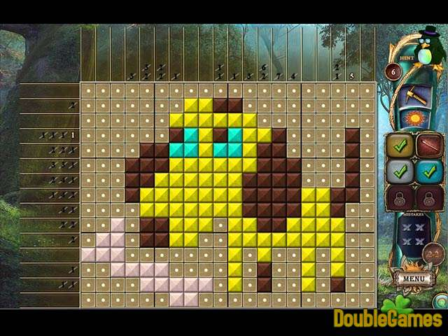 Kostenloser Download Fantasy Mosaics 16: Six colors in Wonderland Screenshot 3
