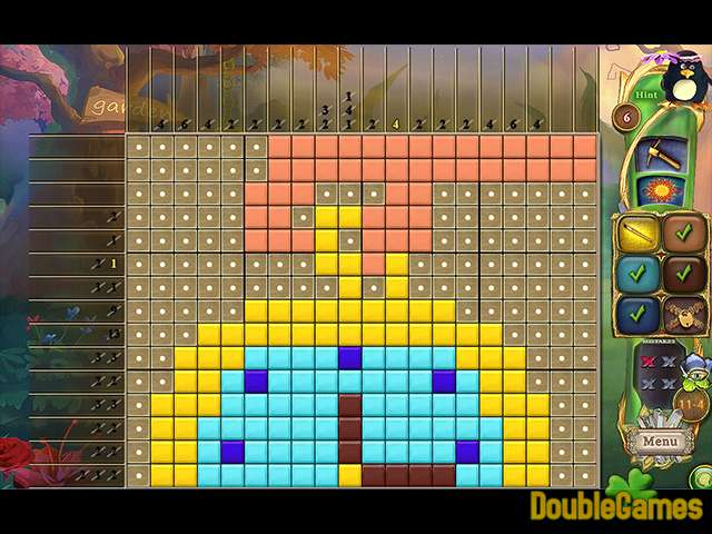 Kostenloser Download Fantasy Mosaics 39: Behind the Mirror Screenshot 2