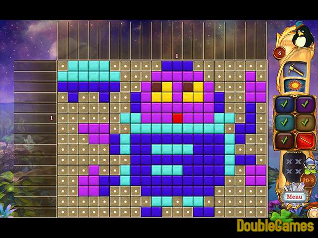 Free Download Fantasy Mosaics 40: Alien Abduction Screenshot 2
