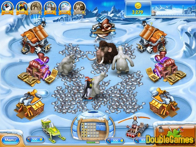 Free Download Farm Frenzy 3: Ice Age Screenshot 3