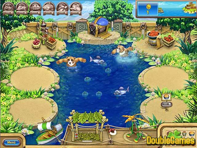 Free Download Farm Frenzy: Frische Fische Screenshot 1