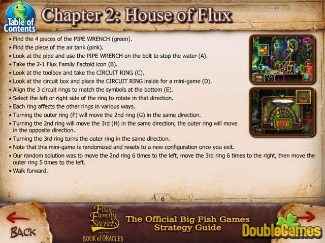 Free Download Flux Family Secrets: The Book of Oracles Strategy Guide Screenshot 3