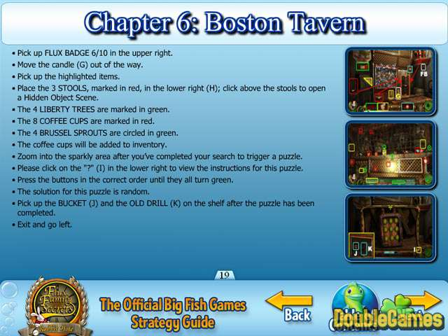 Kostenloser Download Flux Family Secrets: The Rabbit Hole Strategy Guide Screenshot 3