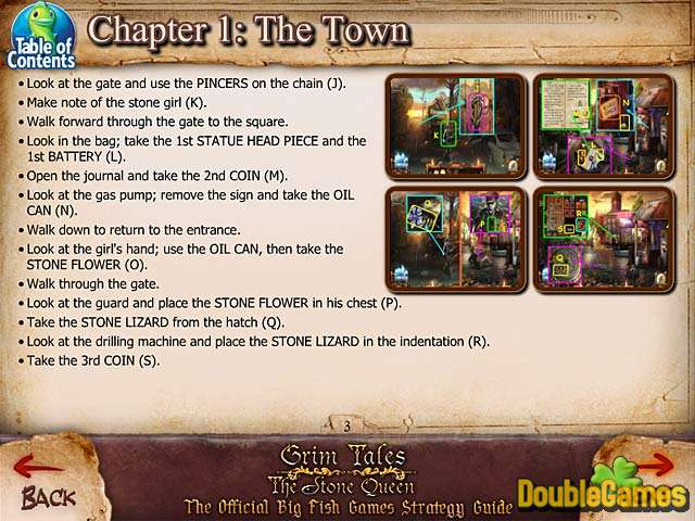 Kostenloser Download Grim Tales: The Stone Queen Strategy Guide Screenshot 1
