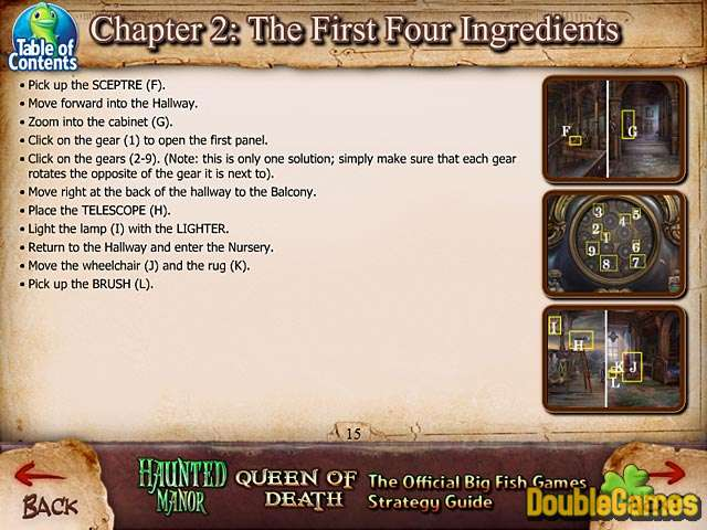 Kostenloser Download Haunted Manor: Queen of Death Strategy Guide Screenshot 1