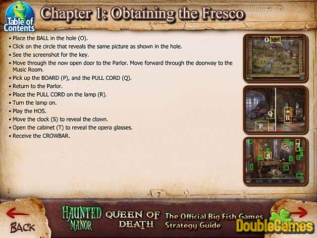 Kostenloser Download Haunted Manor: Queen of Death Strategy Guide Screenshot 2