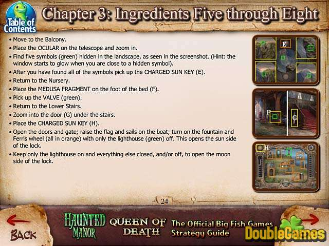 Kostenloser Download Haunted Manor: Queen of Death Strategy Guide Screenshot 3