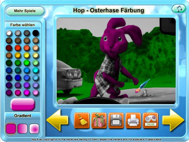 Free Download Hop - Osterhase Farbung Screenshot 1