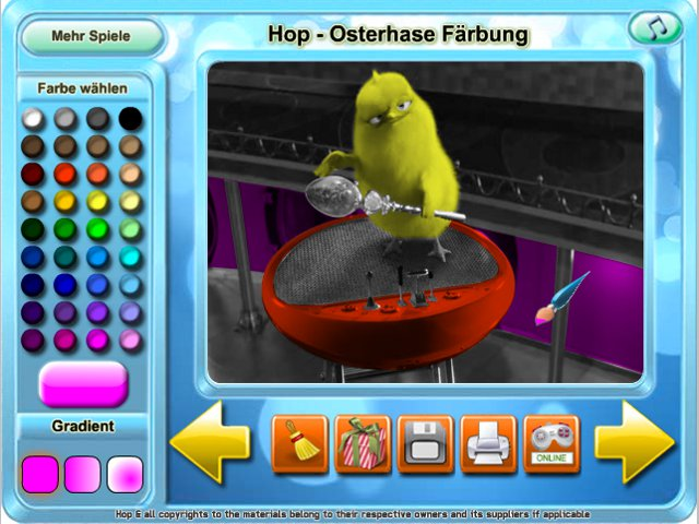 Free Download Hop - Osterhase Farbung Screenshot 2