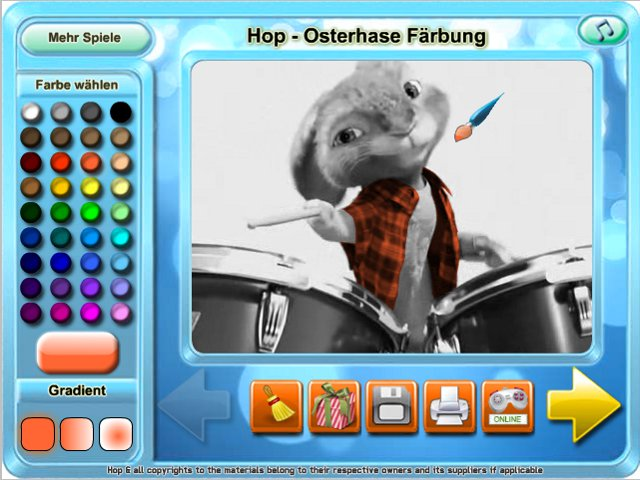 Free Download Hop - Osterhase Farbung Screenshot 3
