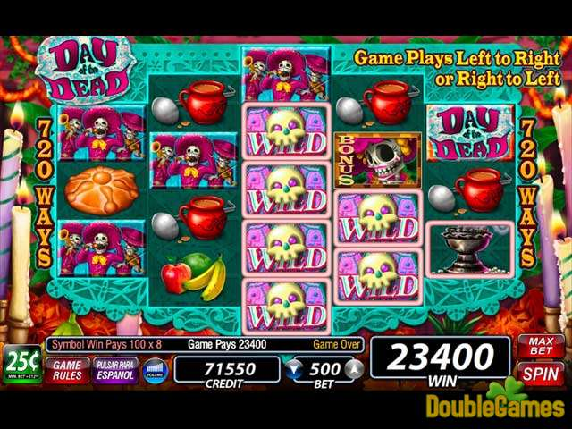 Kostenloser Download IGT Slots: Day of the Dead Screenshot 3