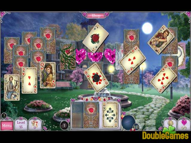 Free Download Jewel Match Solitaire: L'Amour Screenshot 3