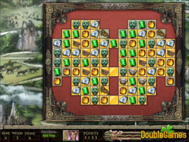 Kostenloser Download Jewel Quest - The Sapphire Dragon Premium Edition Screenshot 1
